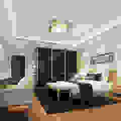 Luxury Solutions Dormitorios de estilo moderno Negro