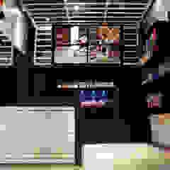 Nutry Store Suplementos Alimentares contato: arquitetura@beecriativa.com.br Shopping Centers industriais por Bee Arquitetura Criativa Industrial