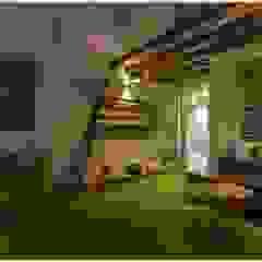 Balcones y terrazas rústicos de GREEN HAT STUDIO PVT LTD Rústico