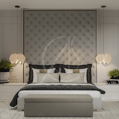 Modern Bedrooms Interior Design Modern style bedroom by Comelite Architecture, Structure and Interior Design Modern