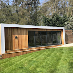 Large garden room project by Modern garden rooms ltd Modern