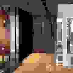 Bungalow at Bandar Enstek Modern corridor, hallway & stairs by Norm designhaus Modern