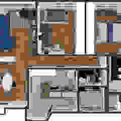 Requalificação e Reforma de Apartamento Moderno e Aconchegante por Studio Elã Eclético