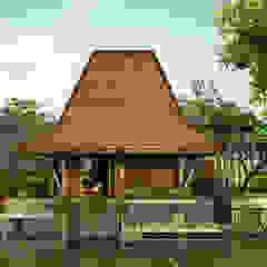 Integrated Farming Resort Hotel Tropis Oleh Mandalananta Studio Tropis Beton Bertulang