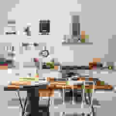 Cocinas de estilo mediterráneo de ABBW angelobruno building workshop Mediterráneo