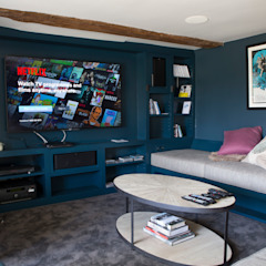 Country style media room by CLPM Ltd Construction Project Consultancy Country