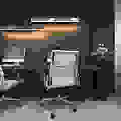 Mieszkanie z elementami klasyki Klasyczne domowe biuro i gabinet od Ambience. Interior Design Klasyczny