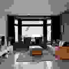Woonhuis Amstelveen Industriële woonkamers van Atelier09 Industrieel
