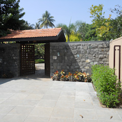 Karne Farmhouse by Baghorama Landscape Architects Tropical Granite