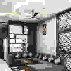 Salas de estilo asiático de Raj Creation Asiático