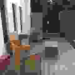 Jardines de estilo asiático de 新綠境實業有限公司 Asiático Compuestos de madera y plástico