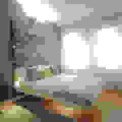 camere Hotel HGR Camera da letto moderna di luigi bello architetto Moderno