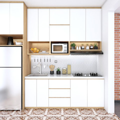 kitchen set Mr. DEDE Oleh viku Modern Kayu Wood effect