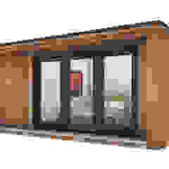 by Modern garden rooms ltd Modern Wood Wood effect