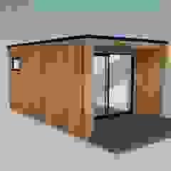 od Modern garden rooms ltd Nowoczesny Drewno O efekcie drewna