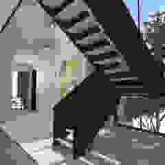 Residential Project Namibia Scandinavian style corridor, hallway& stairs by Lijn Ontwerp Scandinavian MDF
