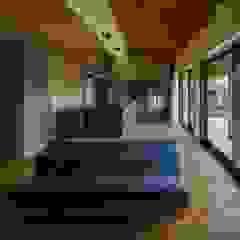 terasho house 和風デザインの リビング の ALTS DESIGN OFFICE 和風