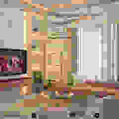 Private apartment من Amjad Alseaidan كلاسيكي زجاج