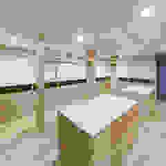 池下の家 モダンデザインの ドレッシングルーム の 株式会社moKA建築工房 モダン