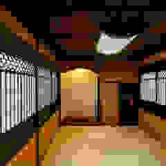 多治見の古民家リノベーション モダンデザインの 多目的室 の 株式会社moKA建築工房 モダン