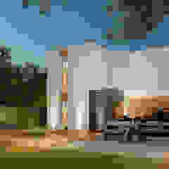 LESS IS MORE โดย The OnGround บริษัทรับสร้างบ้านสไตล์ Modern Japanese มินิมัล