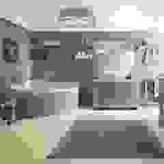 كاسل للإستشارات الهندسية وأعمال الديكور والتشطيبات العامة BathroomDecoration Tiles Black