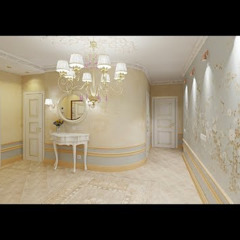 كاسل للإستشارات الهندسية وأعمال الديكور والتشطيبات العامة Dressing roomSeating Granite White
