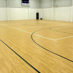 SCHOOL GYM AND HALL WOOD FLOORS SANDING, POLISHING AND RESTORATION من Floor Sanding & Polishing London Ltd كلاسيكي