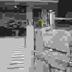 FARM HOUSE - 후정과 농원의 집 모던스타일 정원 by HOMEPOINT. 모던