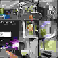 OXYGENE Sportcenter Pau Espaces commerciaux modernes par VALERIE BARTHE AiC Moderne