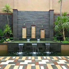 Tukang Taman Dinding & Lantai Minimalis Oleh Tukang Taman Surabaya - Tianggadha-art Minimalis Batu