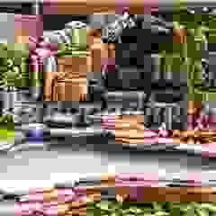 Tukang Taman Dinding & Lantai Tropis Oleh Tukang Taman Surabaya - Tianggadha-art Tropis Batu Bata