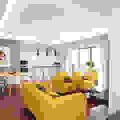 Marvic Projectos e Contrução Civil Modern living room