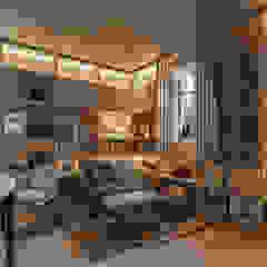 Casa FOA 2017 Salas multimedia modernas de Estudio Viviana Melamed Moderno