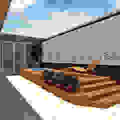 根據 Una Arquitetura 現代風 木頭 Wood effect