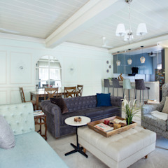 Country Country style living room by purple backyard Country