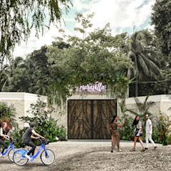 by Obed Clemente Arquitectura Tropical Concrete