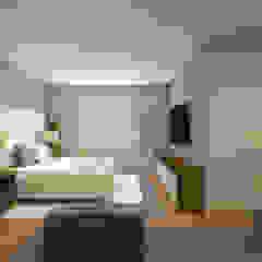 Apartamento Ares Quartos ecléticos por C2HA Arquitetos Eclético