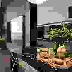 Thiết kế nội thất căn hộ Sunrise Cityview - Phong cách hiện đại sang trọng Nhà bếp phong cách hiện đại bởi ICON INTERIOR Hiện đại