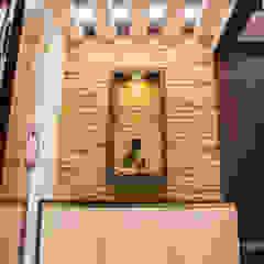 Modern corridor, hallway & stairs by Modulart Modern