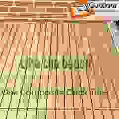 por Outdoor Floors Toronto Campestre Compósito de madeira e plástico