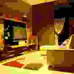 Romantic lounge & living room kota wisata cibubur Ruang Media Modern Oleh Exxo interior Modern