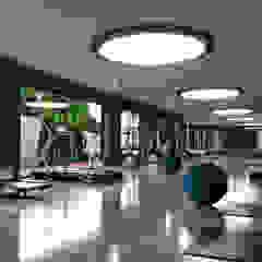 Eruz   Casamarin Suits Modern Fitness Odası Not Mimarlık Modern