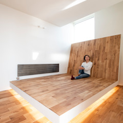 一級建築士事務所 Atelier Casa Eclectic style bedroom