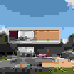 ฺBOXES HOUSE โดย The OnGround บริษัทรับสร้างบ้านสไตล์ Modern Japanese มินิมัล