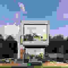 من The OnGround บริษัทรับสร้างบ้านสไตล์ Modern Japanese تبسيطي