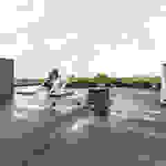 3D Visualisatie - Rotterdam Moderne balkons, veranda's en terrassen van Spijker Design Studio Modern