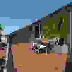 3D Visualisatie - Milaan Moderne balkons, veranda's en terrassen van Spijker Design Studio Modern