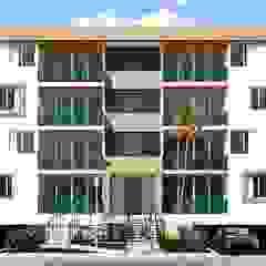 od Taller 3M Arquitectura & Construcción Eklektyczny Cegły