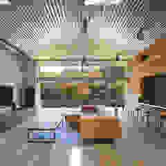 南河内の家/House in Minami-kawachi モダンデザインの リビング の 藤原・室 建築設計事務所 モダン